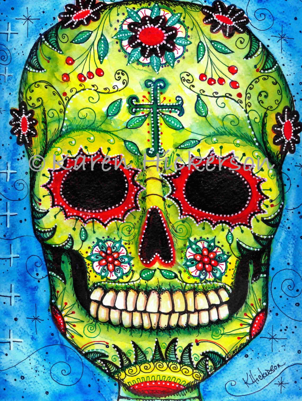 Dia de los muertos sugar skull pictures Quick tip