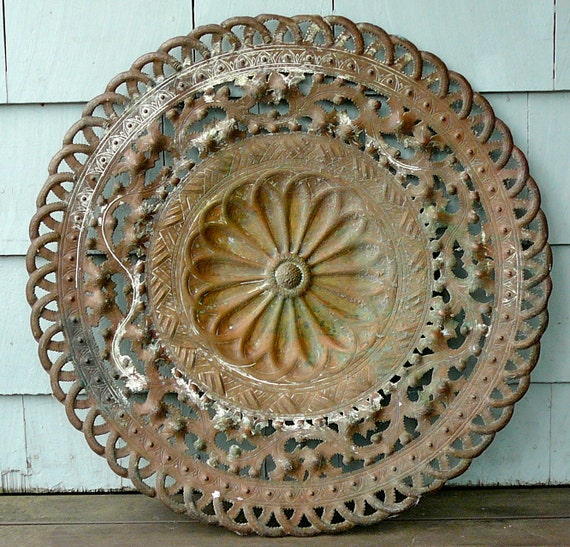 Reserved for Stephanie-Vintage Architectural Salvage Wall or Garden Grate