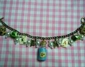 Deluxe Alice in Wonderland  Charm Bracelet