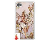 Vintage Fairy iphone 4, iphone 4 case, cell phone case, 4s