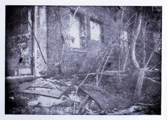 Ruin -Original Photogravure-