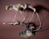 Monkey Corpse Sculpture, Mr. Spindles