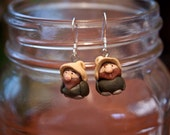 Tiny Gnome Earrings - Bret & Jemaine