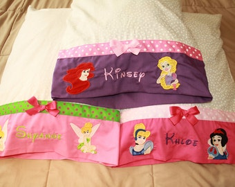 Disney Character Cruise Personalized Autograph Pillowcase