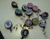Personalized Retractable Name badge holders