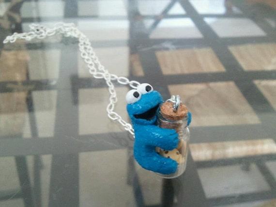 Cookie Monster with Cookie Jar
