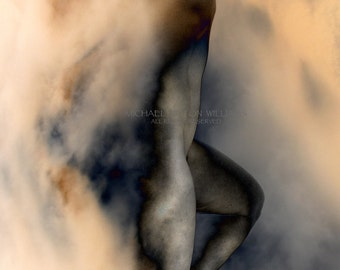 Out of the Clouds, Ultrachrome K3 Archival Print , Signed and Dated