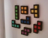 Tetris Magnets - 7 piece set