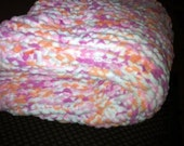 knitted baby blanket( super soft)