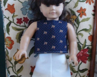 """18"""" Doll Clothes - Horse Top and White Skirt DYD014"""