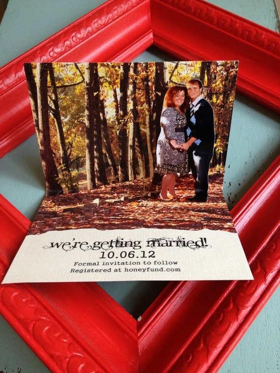 Pop-Up Save the Date or Invitation