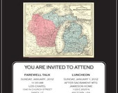 Missionary Farewell or Homecoming Invitation Design
