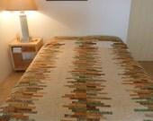Patchwork Batik Duvet Cover Set - Exclusive Duvet Bedding SAMPLE ONLY - Queen Duvet