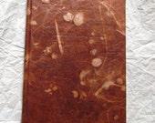 Handmade hardcover book