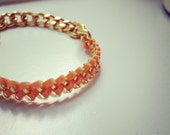 The Wave Chain Bracelet - Custom Color