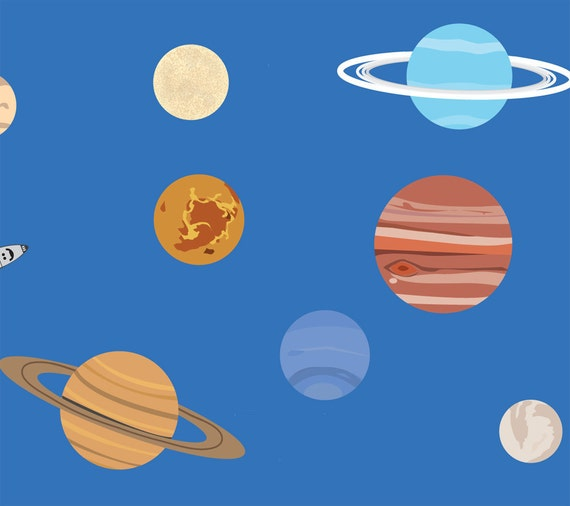 Solar System Wall Decals Large (page 2) - Pics about space