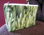 Beautiful Handmade Large Zippered Cosmetic Bag