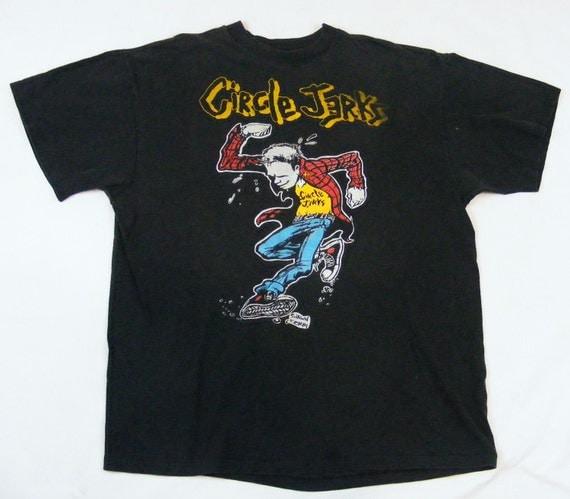 80s Circle Jerks Skanker the Punker T Shirt size L