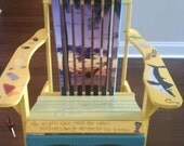 Custom Beach Adirondack Wood Chair