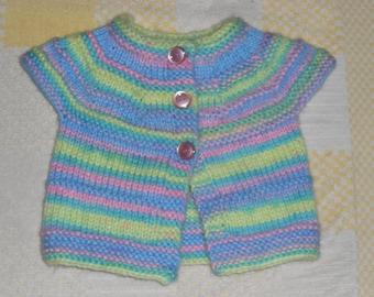 Springtime  baby sweater.