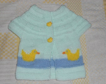 Ducky spring sweater