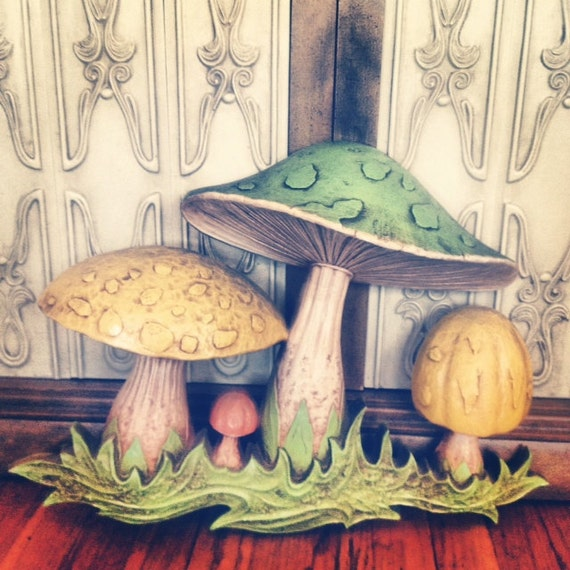 Mushroom Wall Hanging
