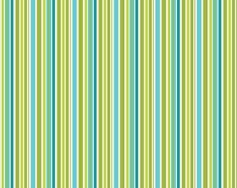 Riley Blake Happier Stripe Blue C5506