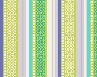 Fabric by the Yard Art Gallery, Modern Affair, MA4303 Organic Stripe Blue