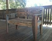 Outdoor Rustic Pallet Chair