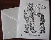 A Sweet Bigfoot