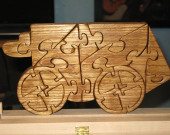 Stagecoach Stand Up Wood Puzzle
