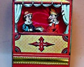 Miniature Paper Punch and Judy Puppet Show