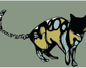 Bespoke Cat Illustration