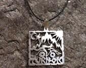 hoffman pendant sterling silver
