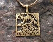 hoffman pendant brass (copper)