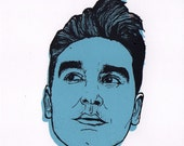 A5 Screen Print 'Morrissey'