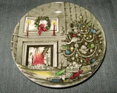Johnson Brothers MERRY CHRISTMAS 4.25-inch Coaster