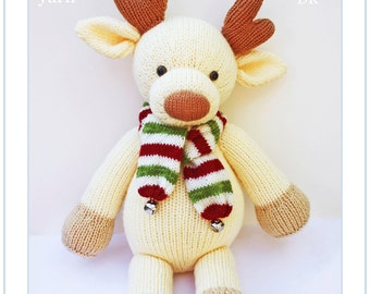 Free Knitting Pattern For Reindeer Jumper : budgies knitting pattern budgerigar PDF email toy budgie bird