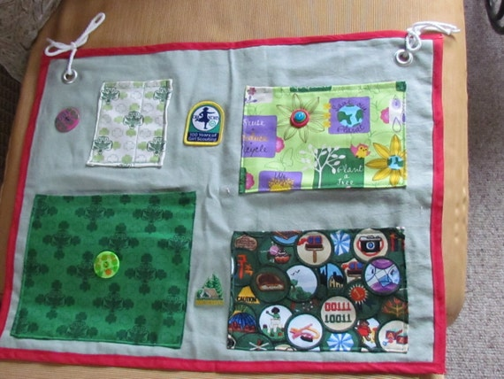Girl Scout Junior Summer Camp Cot Organizer