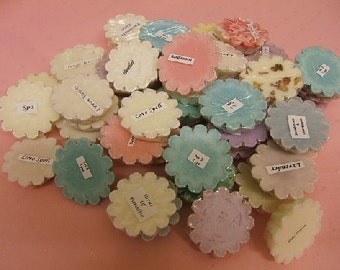 Set of 6 Soy Wax Tarts Choose your own Fragrance