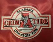 Vintage red Alabama Crimson Tide Satin Jacket New