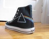 Pink Floyd Dark Side of The Moon High Top Converse