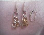 Windchime Earrings with SP wire