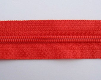 Zippers - Tomato - YKK Zippers - 10 Pieces - 10 inch