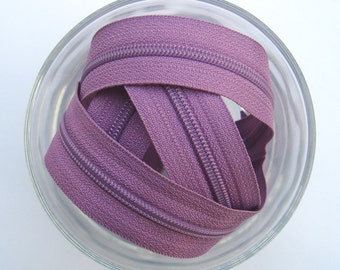 Zippers - Lilac - YKK Zippers - 25 Pieces - 9 inch