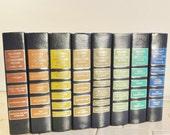 Eight Vintage Hardback Readers Digest Condensed Books / Rainbow