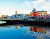 Cityscape. Cork city, Ireland