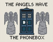 The Angels Have the Phonebox - Cross Stitch Pattern