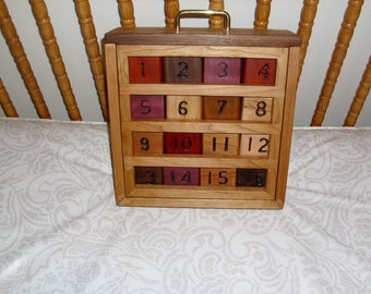 Childrens wood blocks