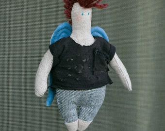 Punk Angel (handmade doll)